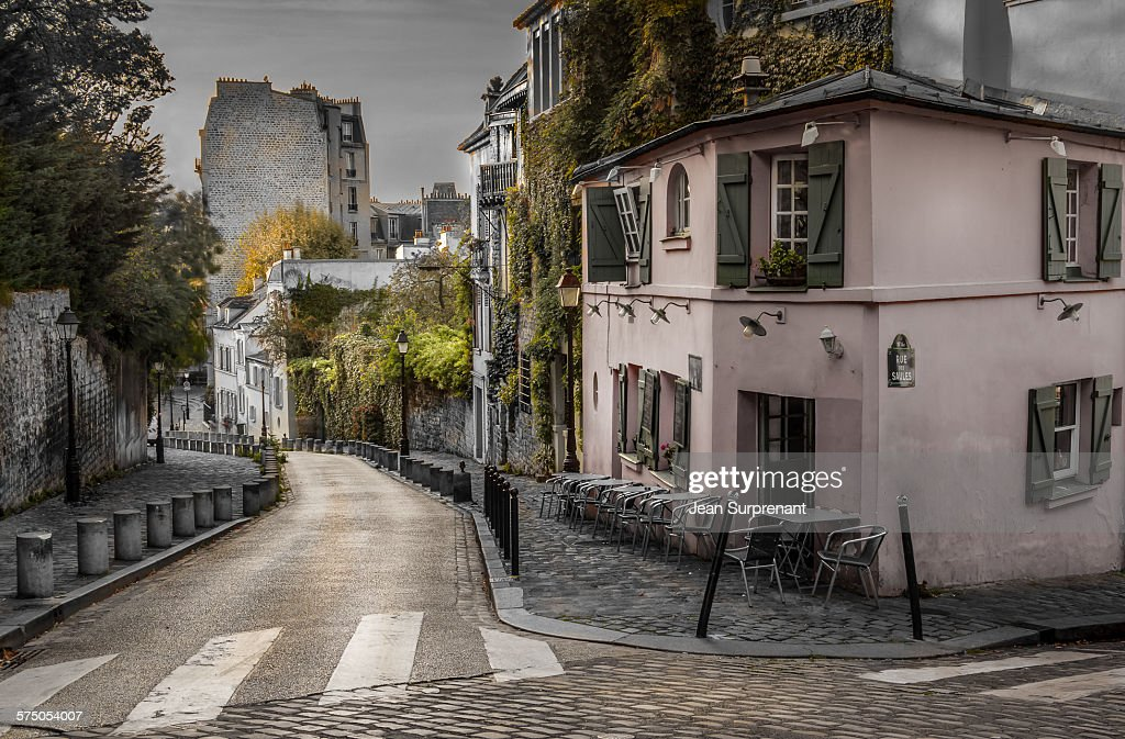 Montmartre desaturated : Stock Photo