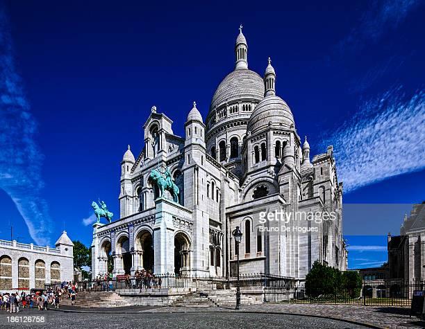 Montmartre District in Paris, France