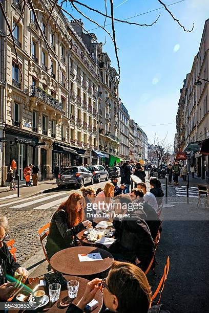 Montmartre District, Paris, France