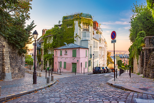 Montmartre in Paris, France 1059273012