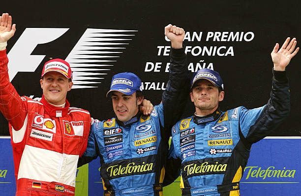 Image result for fernando alonso 2006 spanish gp