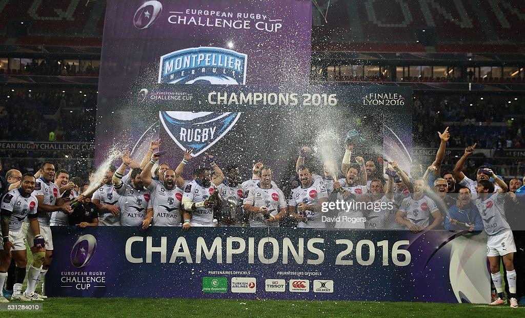 Harlequins v Montpellier - European Rugby Challenge Cup Final : News Photo