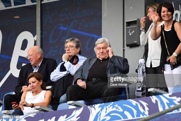 Montpellier president Louis Nicollin during the U19 National Cup Final match between Montpellier and Olympique de Marseille at Stade de France on May...