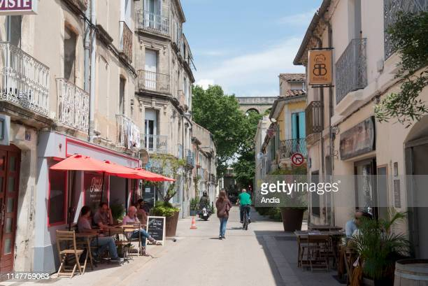 Montpellier : real estate in the city centre, ' rue Marioge ' street, district of Les Arceaux.