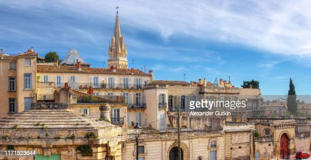 montpellier. the old residential areas. - herault stock pictures, royalty-free photos & images