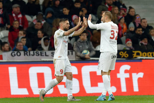 MHSC -EQUIPE DE MONTPELLIER -LIGUE1- 2019-2020 - Page 3 Montpelliers-andy-delort-celebrates-with-team-mate-petar-skuletic-picture-id1193790807?k=6&m=1193790807&s=612x612&w=0&h=LH0kDScBvtsQd1PWyz0RMwGkU7OoSBTt8srgQH5SumQ=