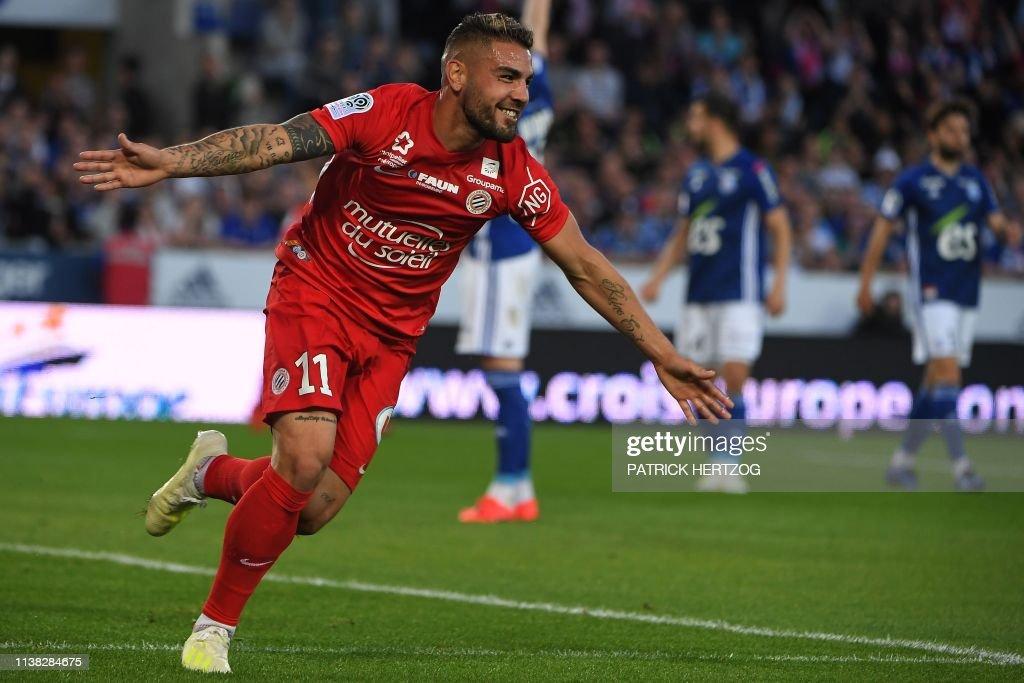 FRA: RC Strasbourg v Montpellier HSC - Ligue 1
