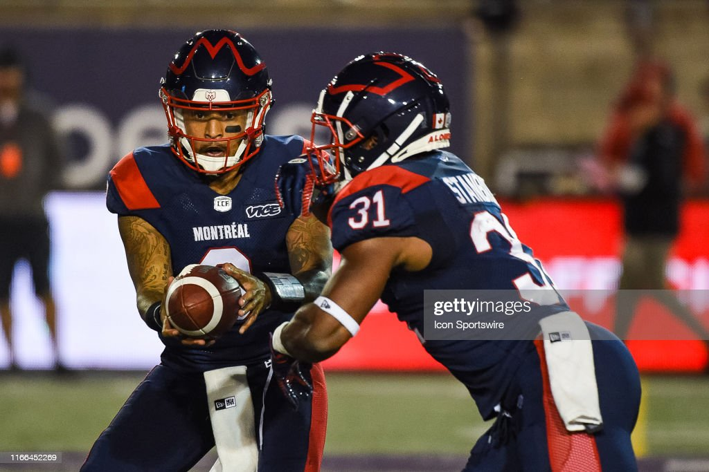 CFL: SEP 06 BC Lions at Montreal Alouettes : News Photo
