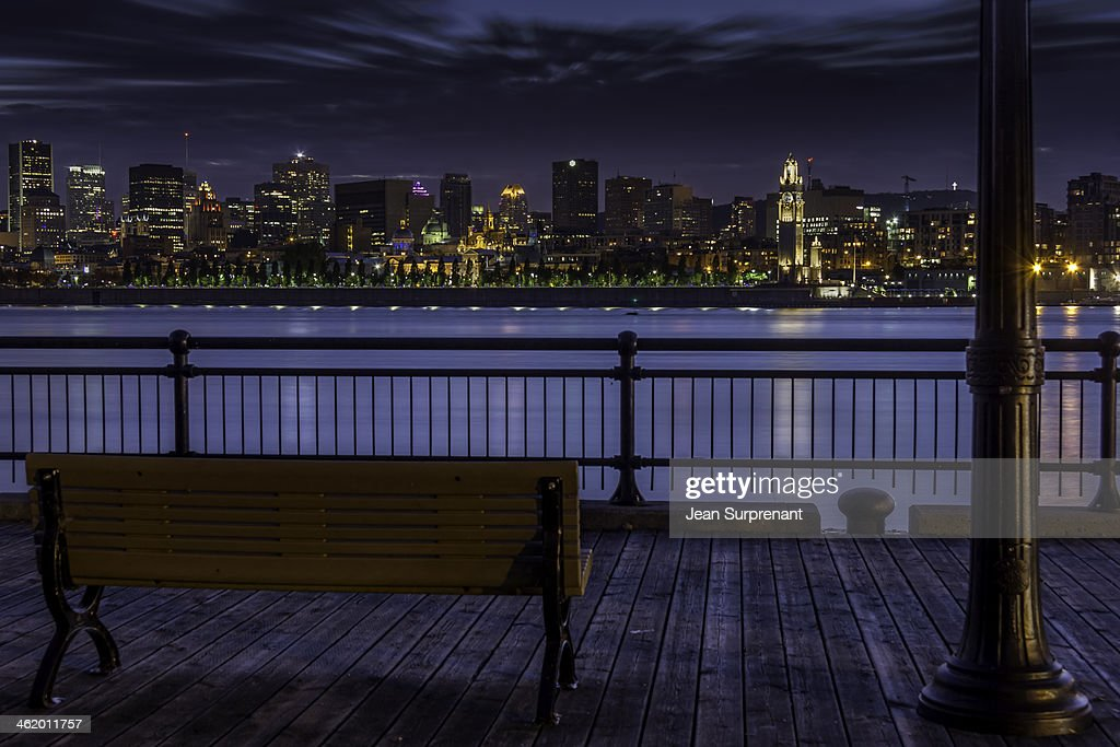 Montreal at night : Stock Photo