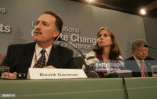 David Garman under secretary of Environment and Science in the US Deptarment of Energy Paula Dobriansky US under secretary for Democracy and Global...