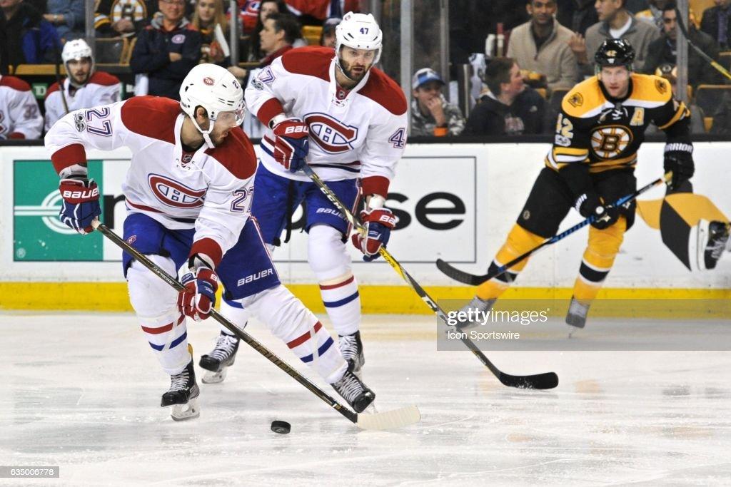 NHL: FEB 12 Canadiens at Bruins : News Photo