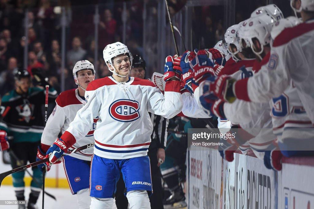NHL: FEB 05 Ducks at Canadiens : News Photo