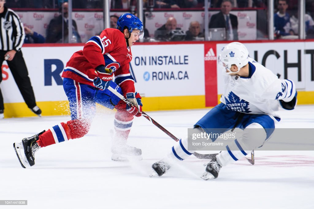 NHL: SEP 26 Preseason - Maple Leafs at Canadiens : News Photo