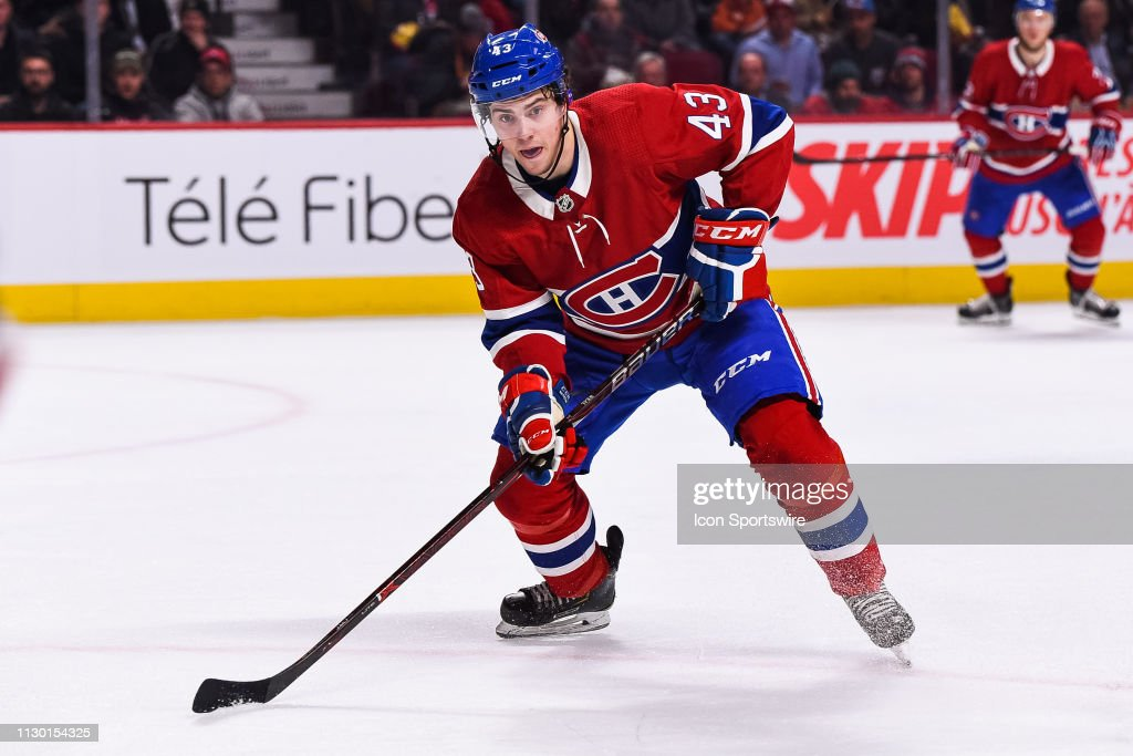 NHL: MAR 12 Red Wings at Canadiens : News Photo