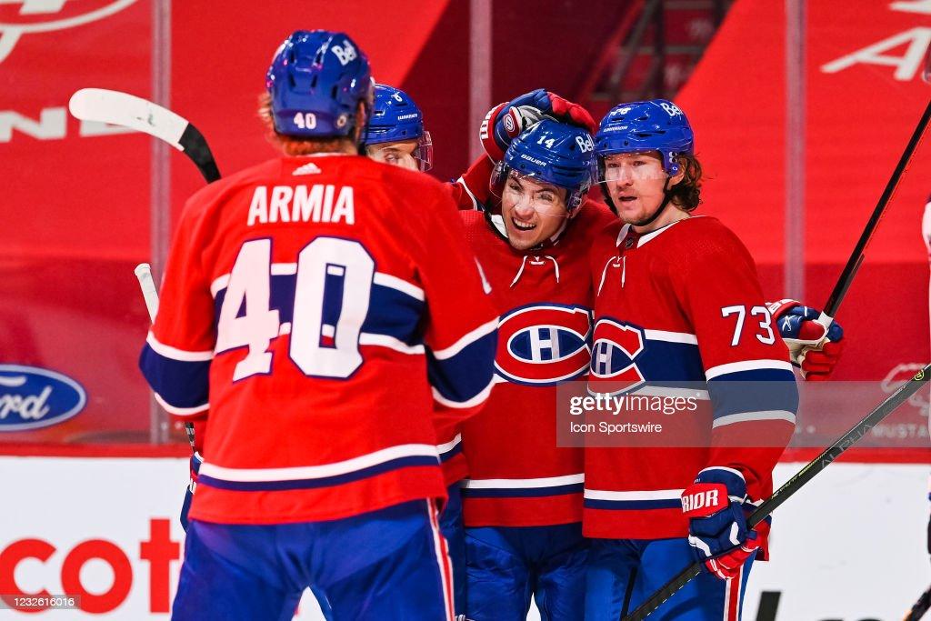 NHL: APR 30 Jets at Canadiens : News Photo