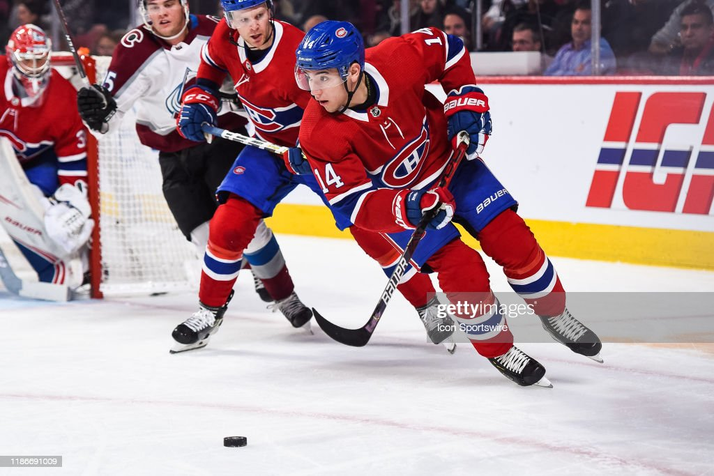 NHL: DEC 05 Avalanche at Canadiens : News Photo