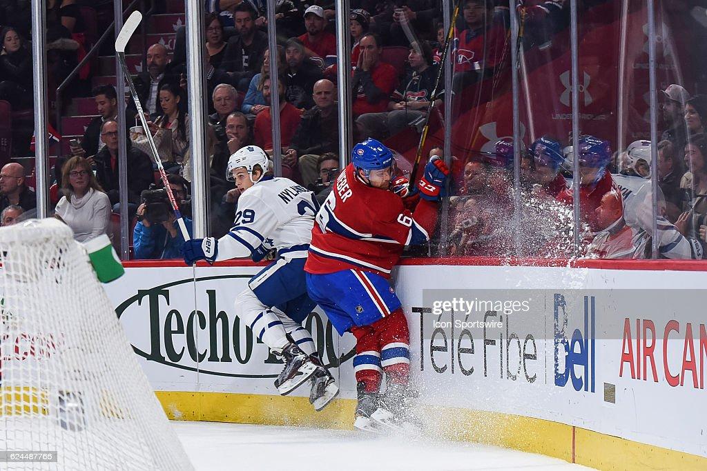 NHL: NOV 19 Maple Leafs at Canadiens : News Photo