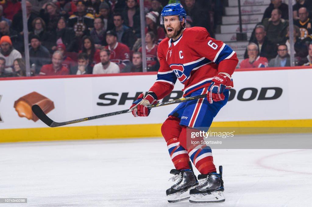 NHL: DEC 17 Bruins at Canadiens : News Photo