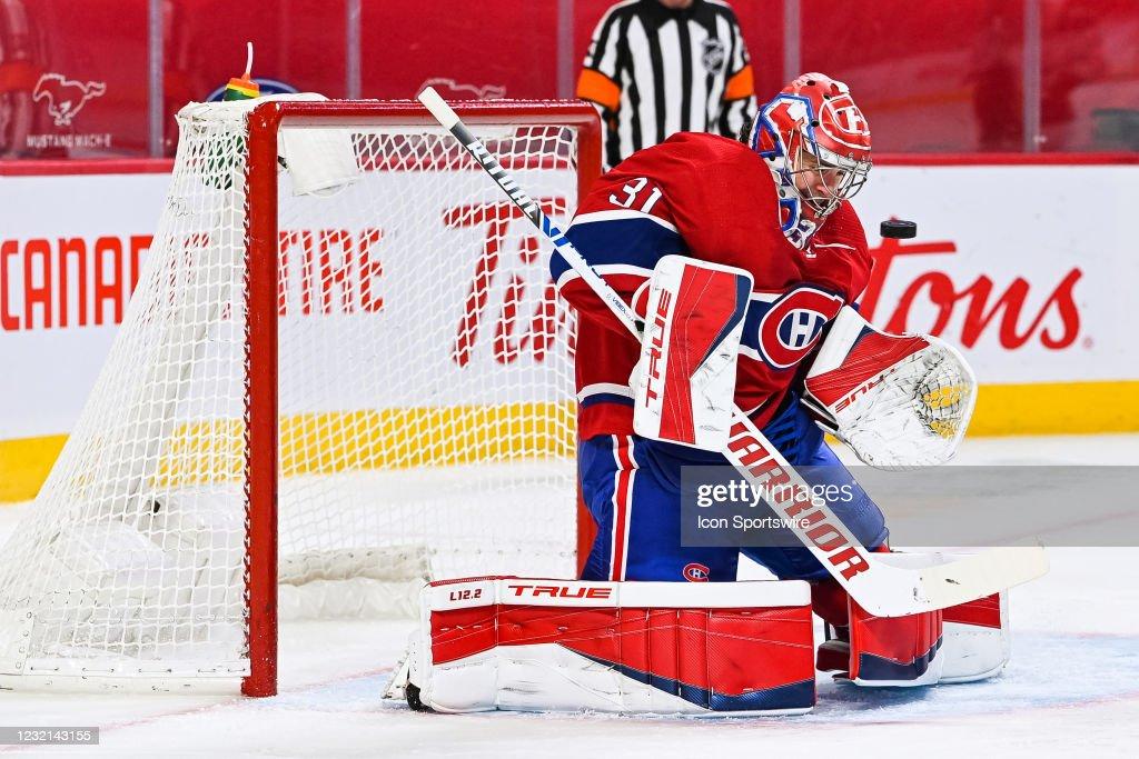 NHL: APR 05 Oilers at Canadiens : News Photo