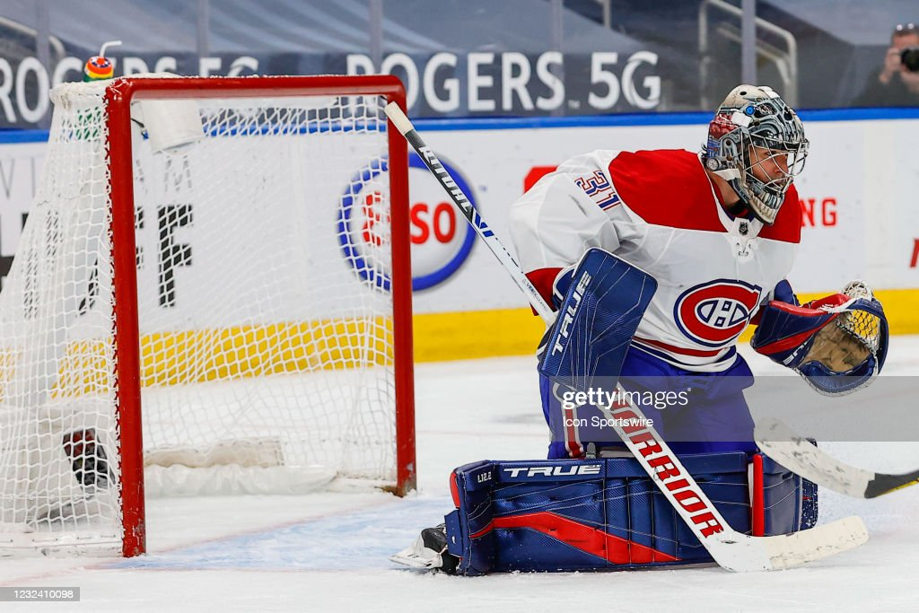 NHL: APR 19 Canadiens at Oilers : News Photo