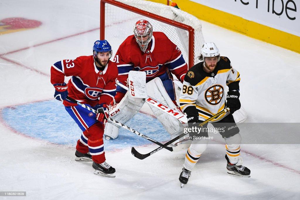 NHL: NOV 05 Bruins at Canadiens : News Photo
