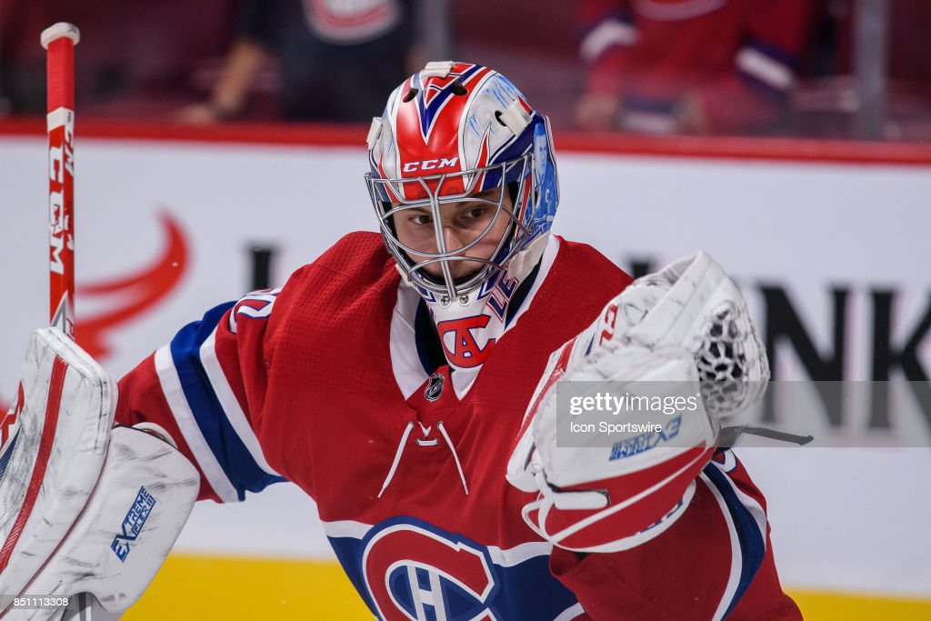 NHL: SEP 21 Preseason - Devils at Canadiens : News Photo