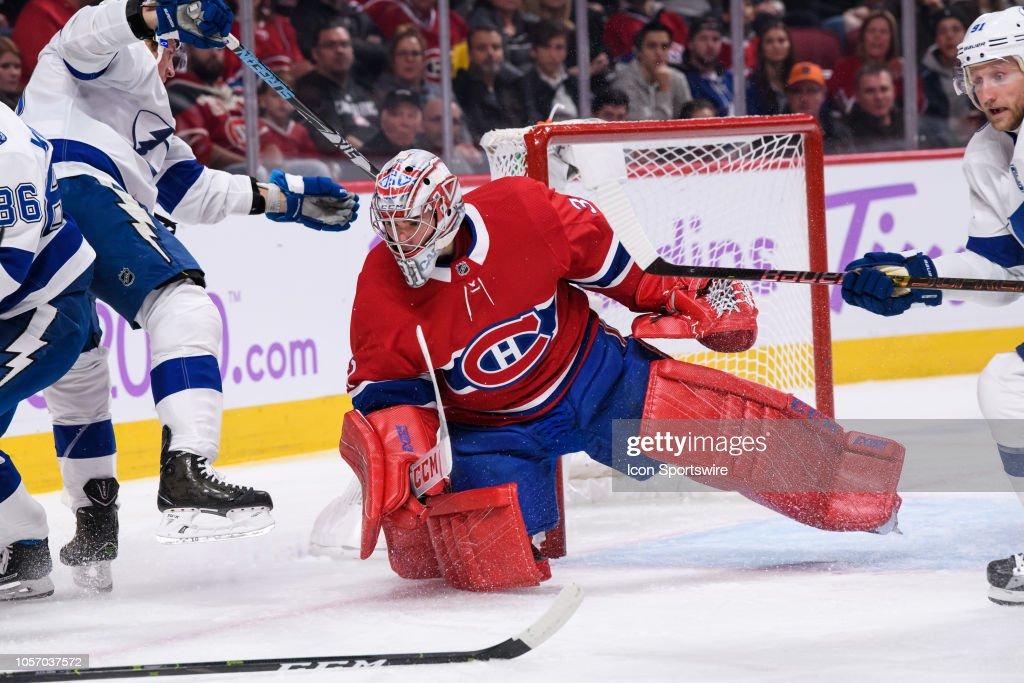 NHL: NOV 03 Lightning at Canadiens : News Photo