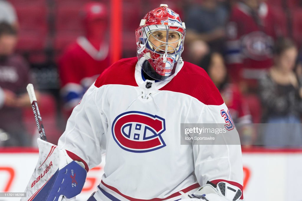 NHL: SEP 21 Preseason - Canadiens at Senators : News Photo