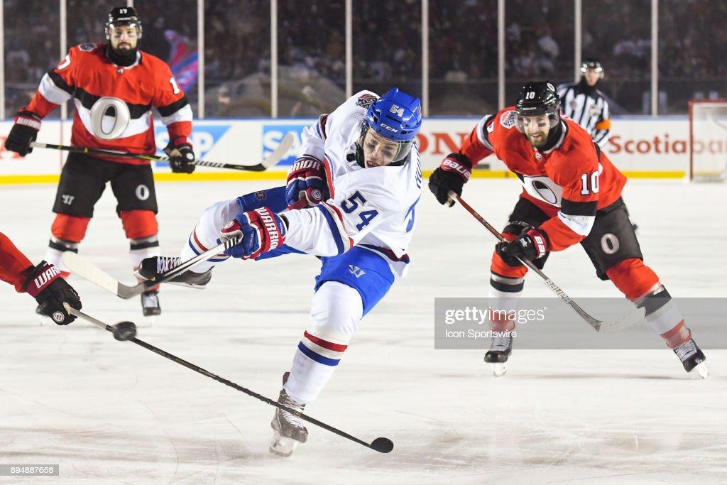 NHL: DEC 16 NHL100 Classic - Canadiens at Senators : News Photo