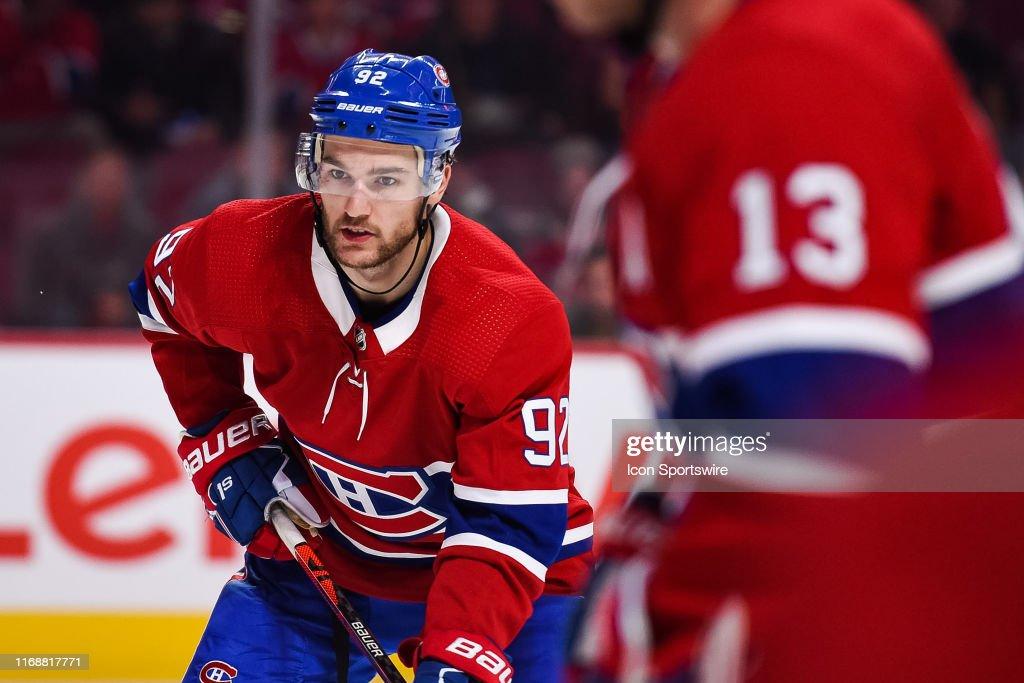 NHL: SEP 16 Preseason - Devils at Canadiens : News Photo
