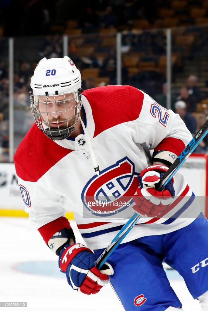 NHL: OCT 27 Canadiens at Bruins : News Photo