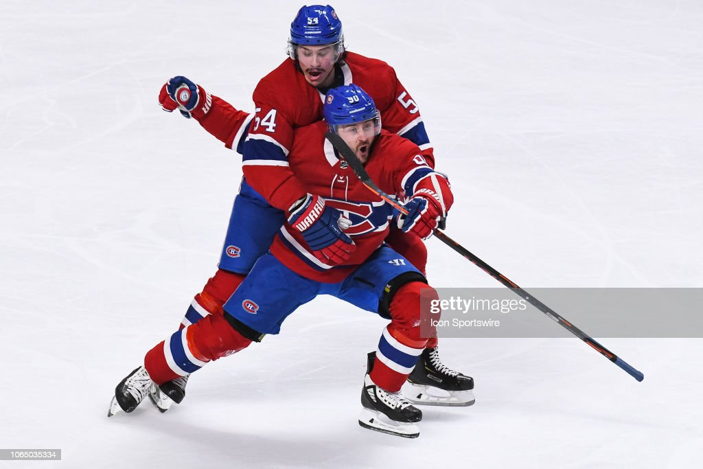 NHL: NOV 24 Bruins at Canadiens : News Photo