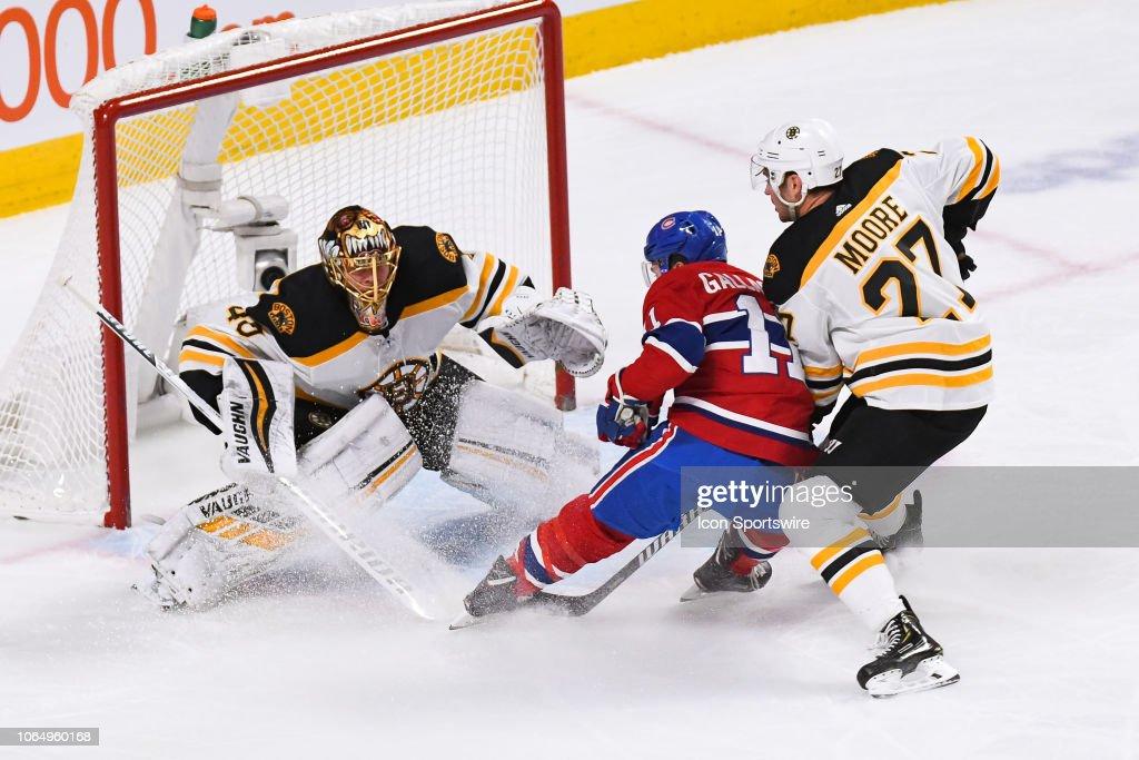 NHL: NOV 24 Bruins at Canadiens : News Photo