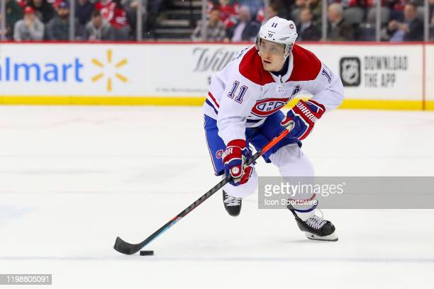 Montreal Canadiens right wing Brendan Gallagher during the National Hockey League game between the New Jersey Devils and the Montreal Canadiens at...