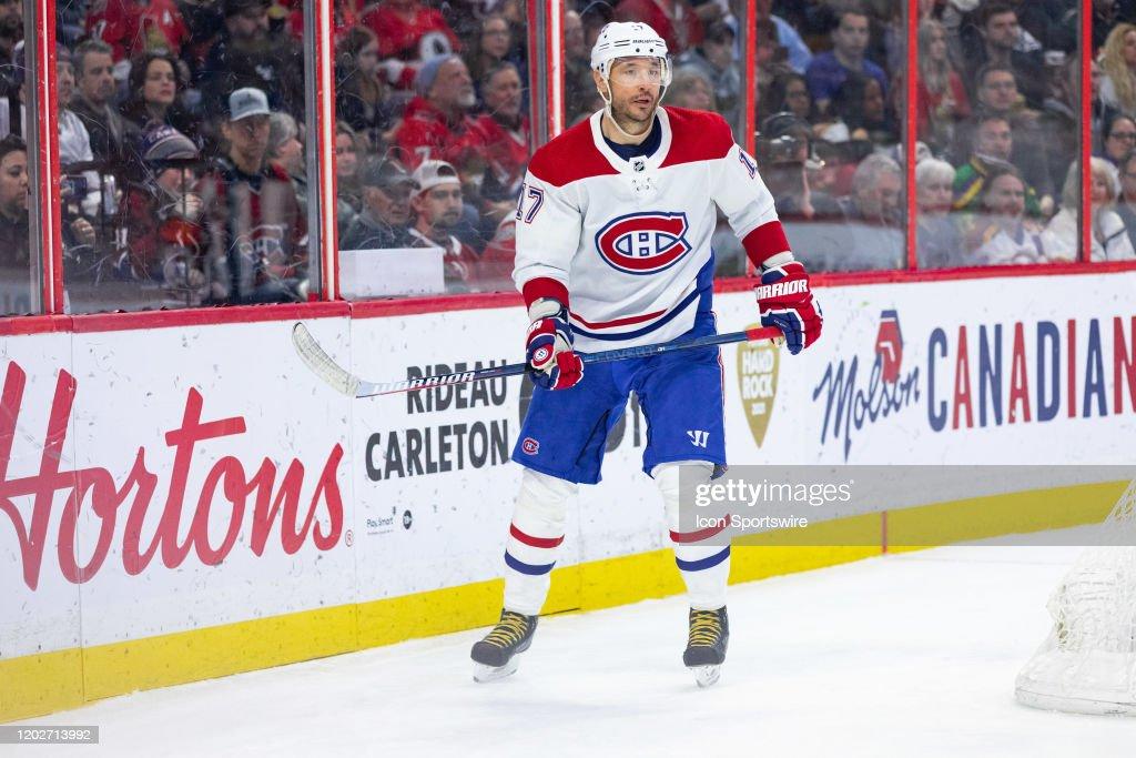 NHL: FEB 22 Canadiens at Senators : News Photo