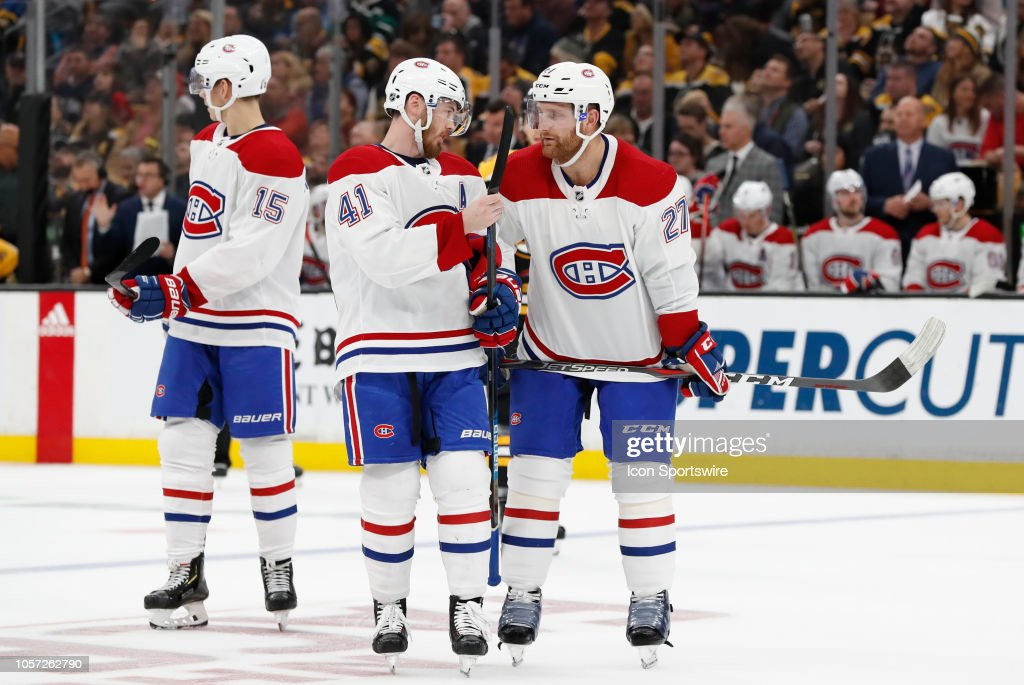 NHL: OCT 27 Canadiens at Bruins : News Photo