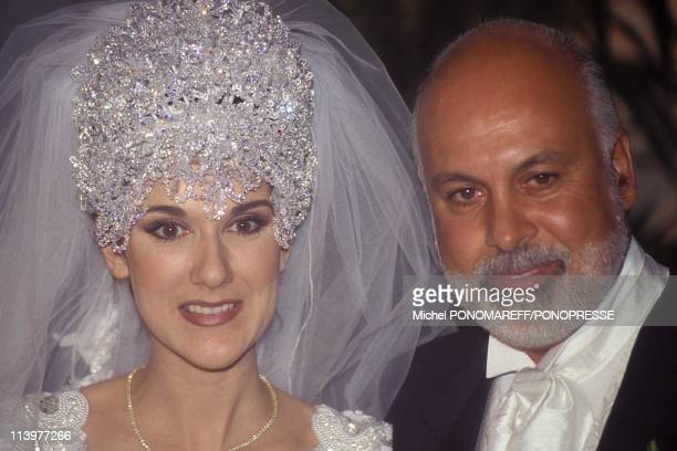Montreal Celine Dion's wedding In Montreal Canada On December 17 1994