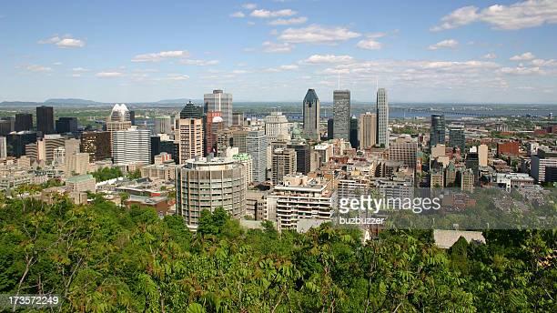 Ville de Montréal en août