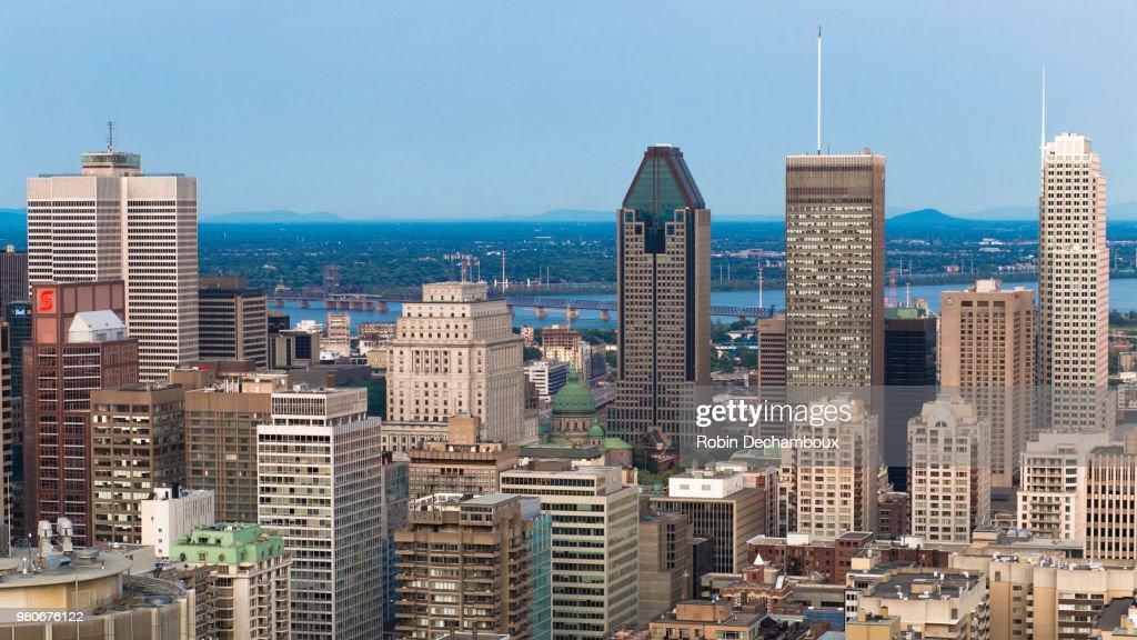 Montreal cityscape, Quebec, Canada : Stock Photo