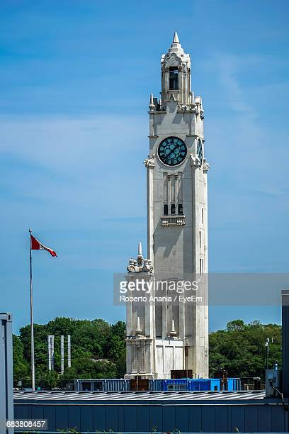 Montreal Clock Tower Against Sky