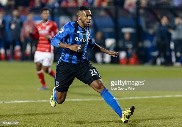 Montreal Impact Forward Anthony JacksonHamel during the MLS match between the Montreal Impact and FC Dallas at Toyota Stadium in Frisco TX FC Dallas...