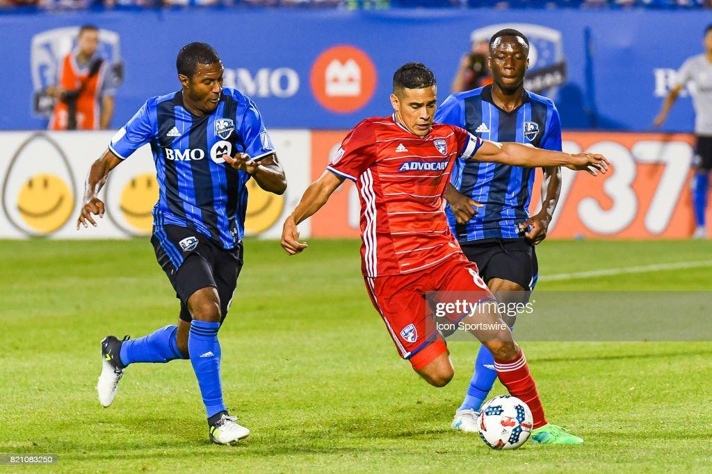 SOCCER: JUL 22 MLS - FC Dallas at Montreal Impact : News Photo