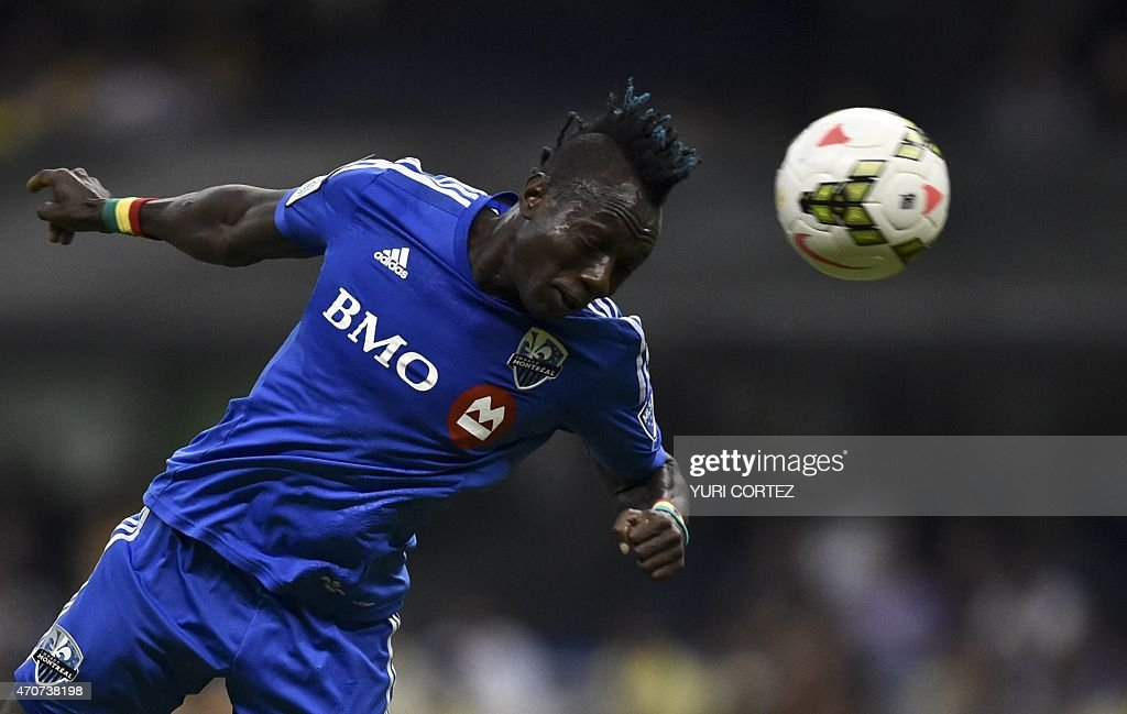 FBL-CONCACAF-AMERICA-MONTREAL IMPACT : News Photo