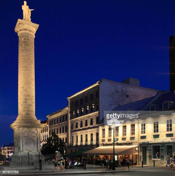 montreal, place jacques cartier - place jacques cartier stock pictures, royalty-free photos & images