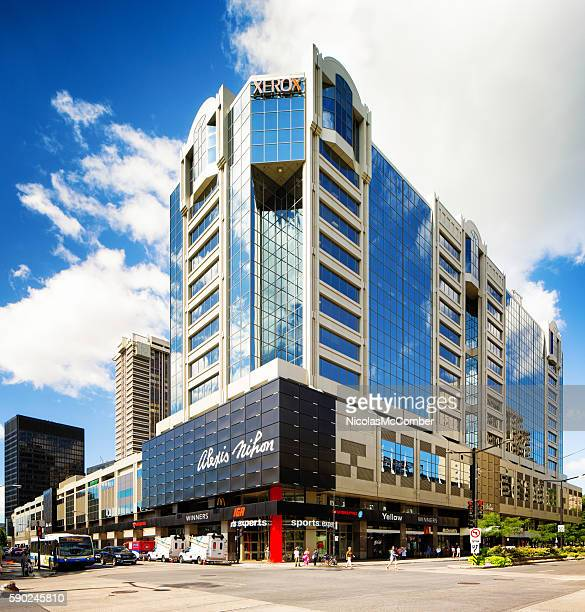 Montreal Plaza Alexis Nihon shopping mall and office tower