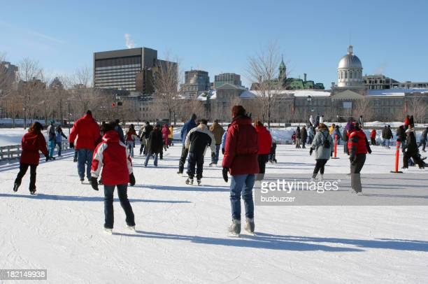 Montreal Winter Ice Skating Park