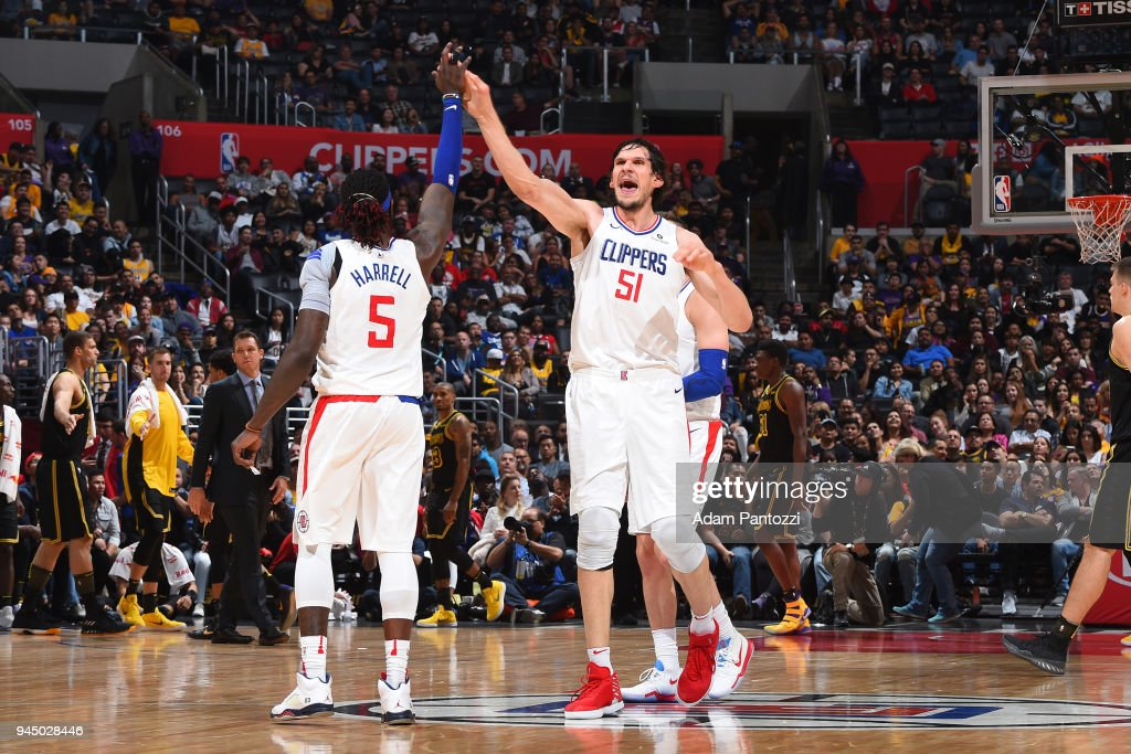 Los Angeles Lakers v LA Clippers : News Photo