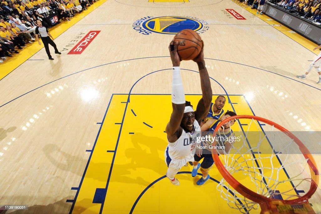 LA Clippers v Golden State Warriors - Game Five : Nachrichtenfoto