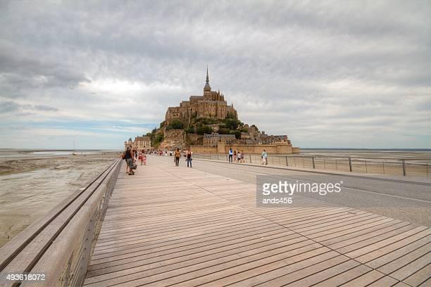 Mont-Saint-Michel,Normandy, France.,