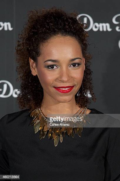 Montse Pla attends Dom Perignon party at the Duarte Palace on December 9 2014 in Madrid Spain